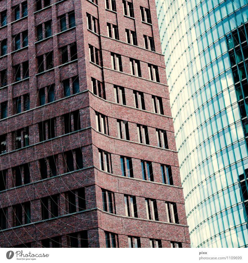 fensterputzer gesucht blau schön ruhig kalt Fenster Wand Architektur Mauer Berlin Stein braun Lifestyle Fassade Arbeit & Erwerbstätigkeit Business Wachstum