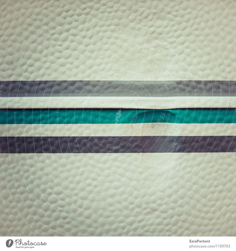 Beule Wohnmobil Wohnwagen Kunststoff Zeichen Linie Streifen dunkel grau türkis Design Farbe Karosserie graphisch Grafik u. Illustration Grafische Darstellung
