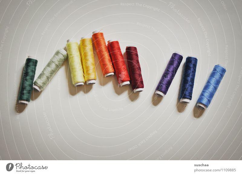 10-farbig Nähgarn Rolle Nähen Handarbeit Farbverlauf Schneidern gerollt