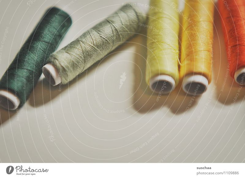 ... zwirn Nähgarn mehrfarbig Rolle Röllchen Nähen Nähmaschine Handarbeit