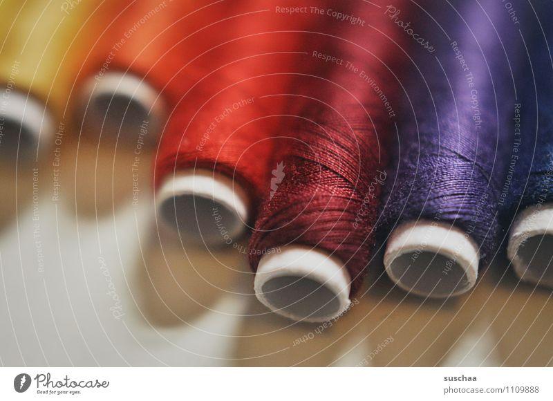 verflixt und zugenäht ... Nähgarn Rolle Nähen Handarbeit Farbverlauf Schneidern Kurzwaren