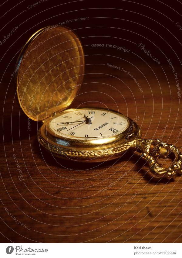 Das Ding mit der Zeit Bewegung Metall Business Uhr gold Erfolg Beginn Gold Vergänglichkeit Zifferblatt Wandel & Veränderung Ziffern & Zahlen Vergangenheit
