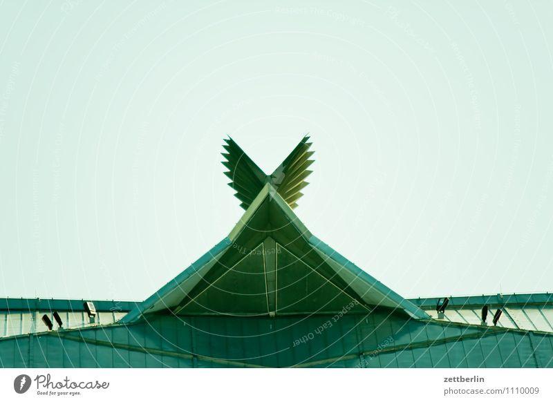 3803 - Philharmonie Himmel Stadt Wolken Architektur Berlin Metall Stadtleben Dekoration & Verzierung modern Flügel Metallwaren Dach Hauptstadt Krone poetisch