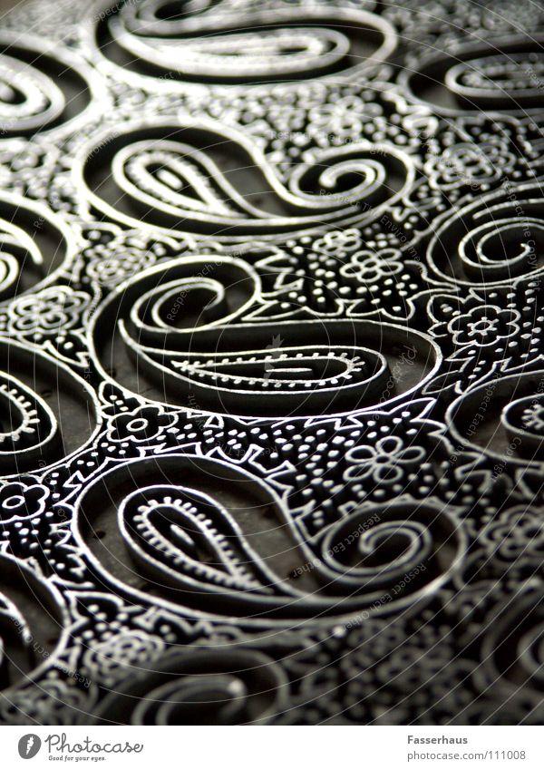 Schnörkel alt Kunst Muster Handwerk Eisen antik Stempel Kunsthandwerk
