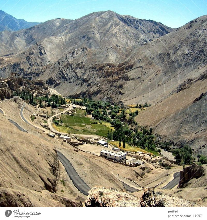 Stück Himalaja in Ladakh I Himmel Ferien & Urlaub & Reisen Berge u. Gebirge Erde wandern hoch Asien Kultur Nepal Amerika Indien Bergsteigen Oase Himalaya