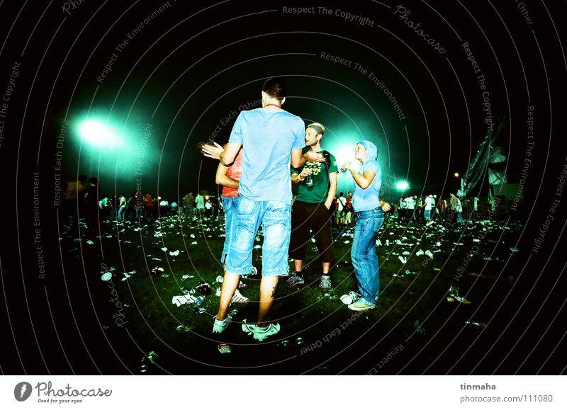 guca Serbien Konzert Stadion Wiese Gras Müll Gast Licht Freizeit & Hobby Ferien & Urlaub & Reisen Sommer Musik Musikfestival goran bregovic Mensch