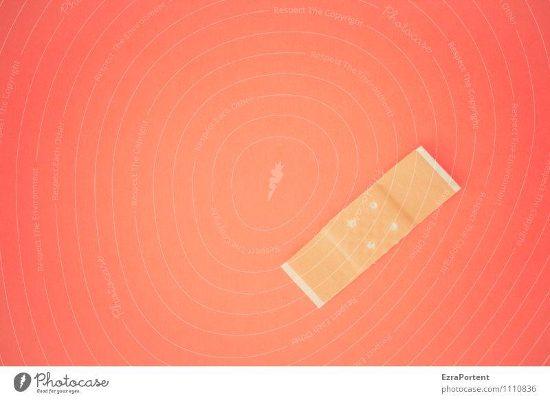noch ein Trostpflaster Farbe rot Gesundheit Hintergrundbild Gesundheitswesen leuchten Design Grafik u. Illustration Schmerz graphisch Werbebranche Wunde