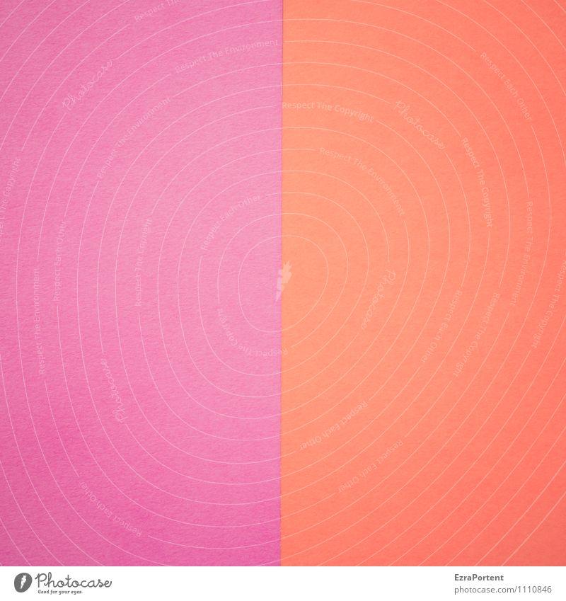 L | R Farbe rot Hintergrundbild Linie leuchten Design ästhetisch Papier Grafik u. Illustration violett graphisch Trennung zusammenpassen Grafische Darstellung