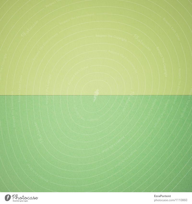 G | G Linie ästhetisch grün Design Farbe Papier Grafik u. Illustration Grafische Darstellung graphisch Farbfoto Innenaufnahme Experiment abstrakt Muster