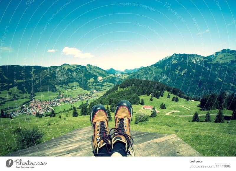 Wandern im Allgäu wandern Natur Alpen Wanderschuhe Ferien & Urlaub & Reisen Hindelang Landkreis Oberallgäu Bergwanderung oberjoch bad hindelang hinterstein