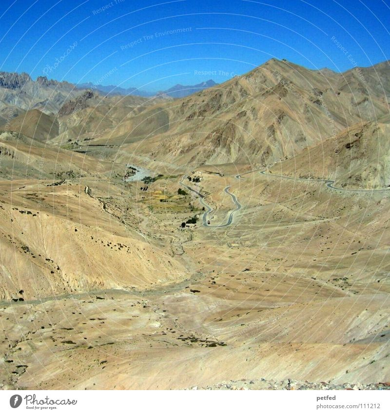 Stück Himalaja in Ladakh II Indien Jammu, Ladakh, Kaschmir Kultur Hochebene wandern Bergsteigen Asien trocken Berge u. Gebirge Erde Amerika Himalaya