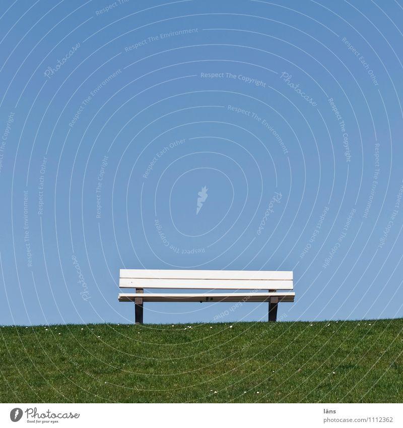 Deichkind Natur Ferien & Urlaub & Reisen blau Sommer Sonne Erholung Meer Landschaft ruhig Ferne Umwelt Gras Küste Wege & Pfade Freiheit Horizont