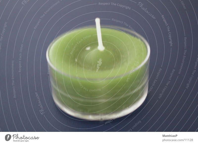 Kerze grün klein Dinge Duft Teelicht