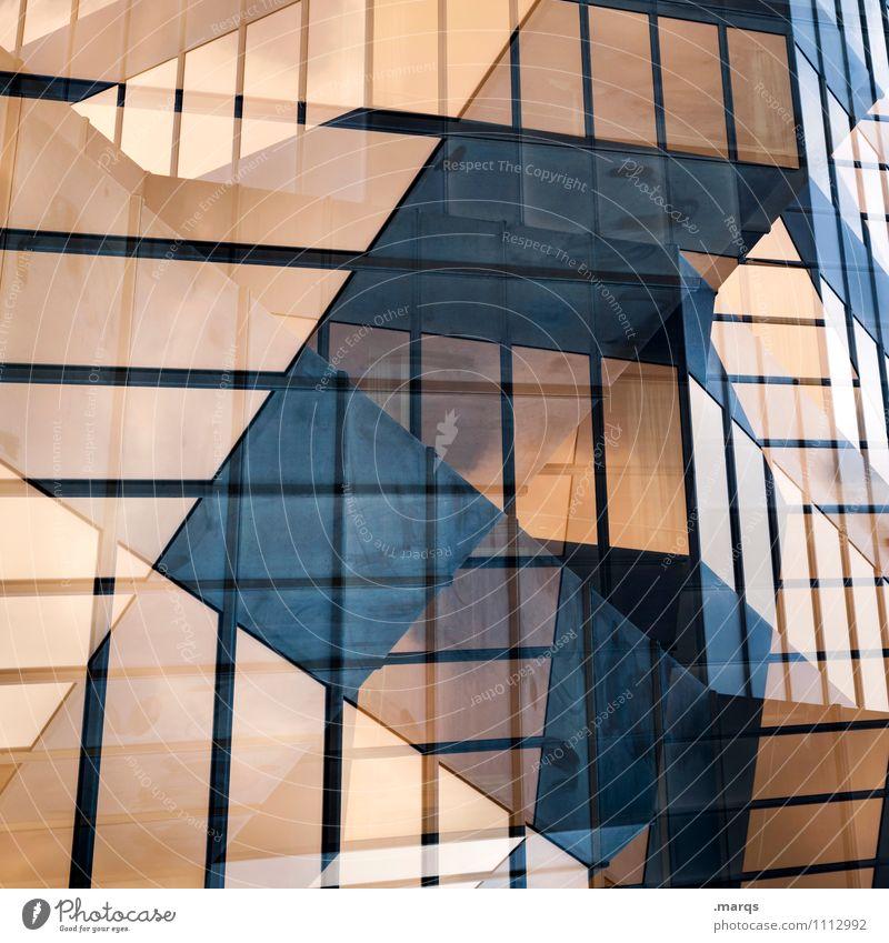 Golden Times Stil Design Fassade Linie Erotik gold schwarz Freude Grafik u. Illustration Hintergrundbild Farbfoto Außenaufnahme abstrakt Muster Menschenleer