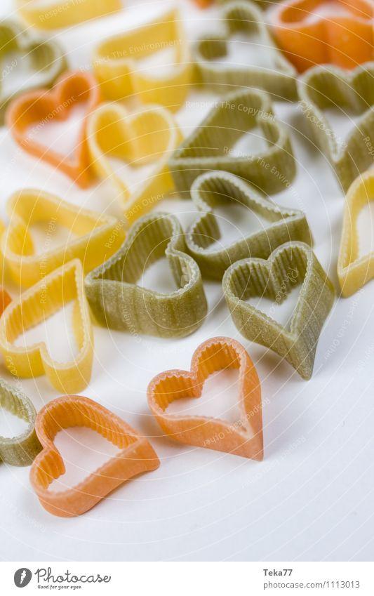 Ein Herz für Pasta IIII Gefühle Liebe Lebensmittel Ernährung Bioprodukte Nudeln Festessen Italienische Küche