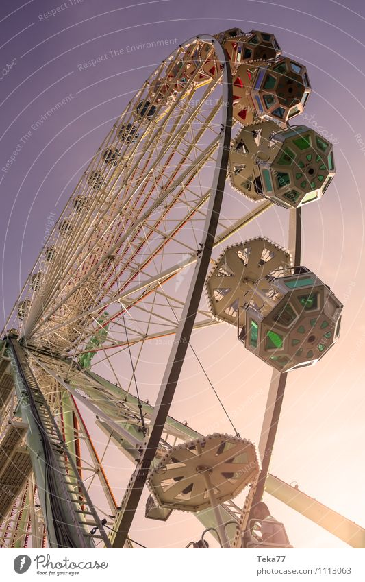 Riesenradsommer 2 Ferien & Urlaub & Reisen Sommer Sonne gelb Gefühle Stimmung Park Show Jahrmarkt Sommerurlaub Entertainment Fairness