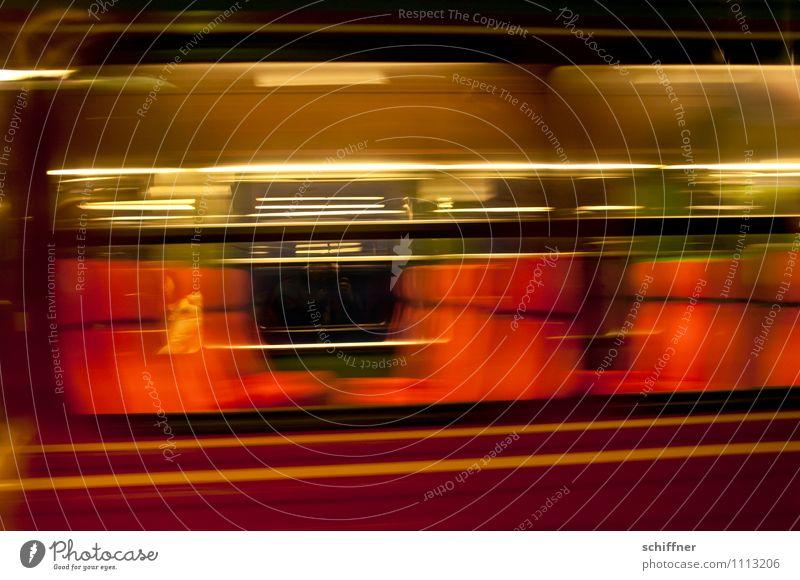 Ötzinchen-Express Ferien & Urlaub & Reisen rot schwarz Reisefotografie gold Geschwindigkeit Eisenbahn Personenverkehr Verkehrsmittel Durchgang reisend