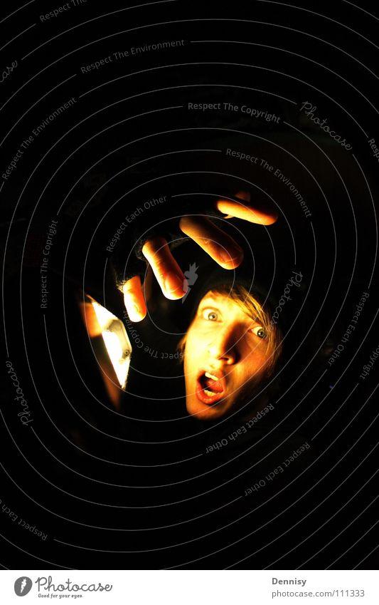 |||| o.0 Lampe Licht Handschuhe Finger Raum Schrecken Langeweile oh Gesicht Haare & Frisuren Beleuchtung Auge