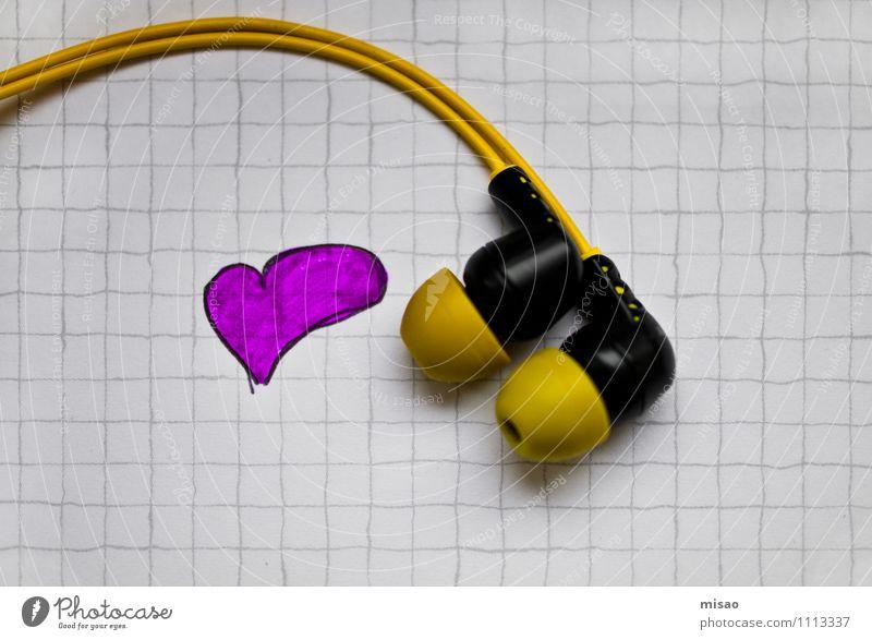 Luv my music Freude gelb Liebe Gefühle Feste & Feiern Zusammensein rosa Freizeit & Hobby Ordnung Musik Tanzen Kreativität Wohlgefühl Handy Konzert Club