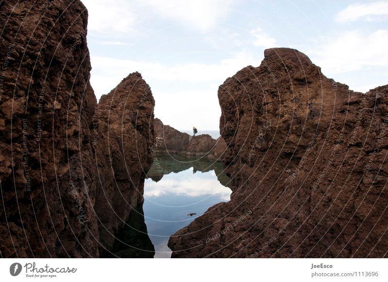 #1113696 Mensch Himmel Natur Ferien & Urlaub & Reisen Erholung Meer Einsamkeit Wolken Küste Felsen Horizont wandern warten Ausflug beobachten Abenteuer