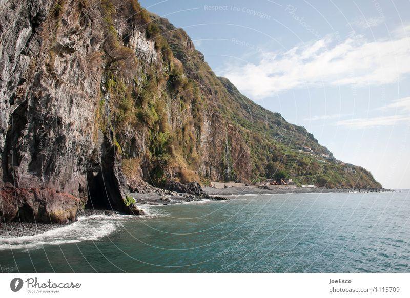 #1113709 Ferien & Urlaub & Reisen Tourismus Ausflug Abenteuer Ferne Freiheit Sonne Strand Meer Insel Wellen Berge u. Gebirge Pflanze Himmel Wolken Baum