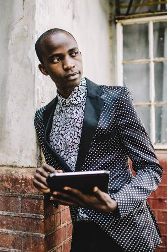 Mr. Technology. Lifestyle Reichtum elegant Stil schön PDA Notebook Technik & Technologie Unterhaltungselektronik Fortschritt Zukunft Internet Mensch maskulin