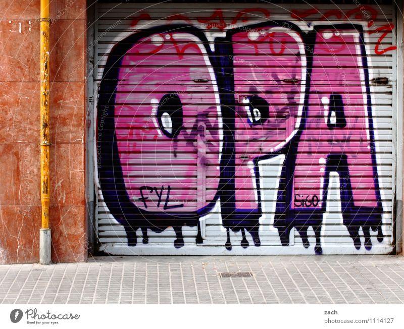 langlebig | Großvater Männlicher Senior Mann 60 und älter Zeichen Schriftzeichen Graffiti alt 50 plus Symbole & Metaphern Buchstaben Farbfoto Außenaufnahme