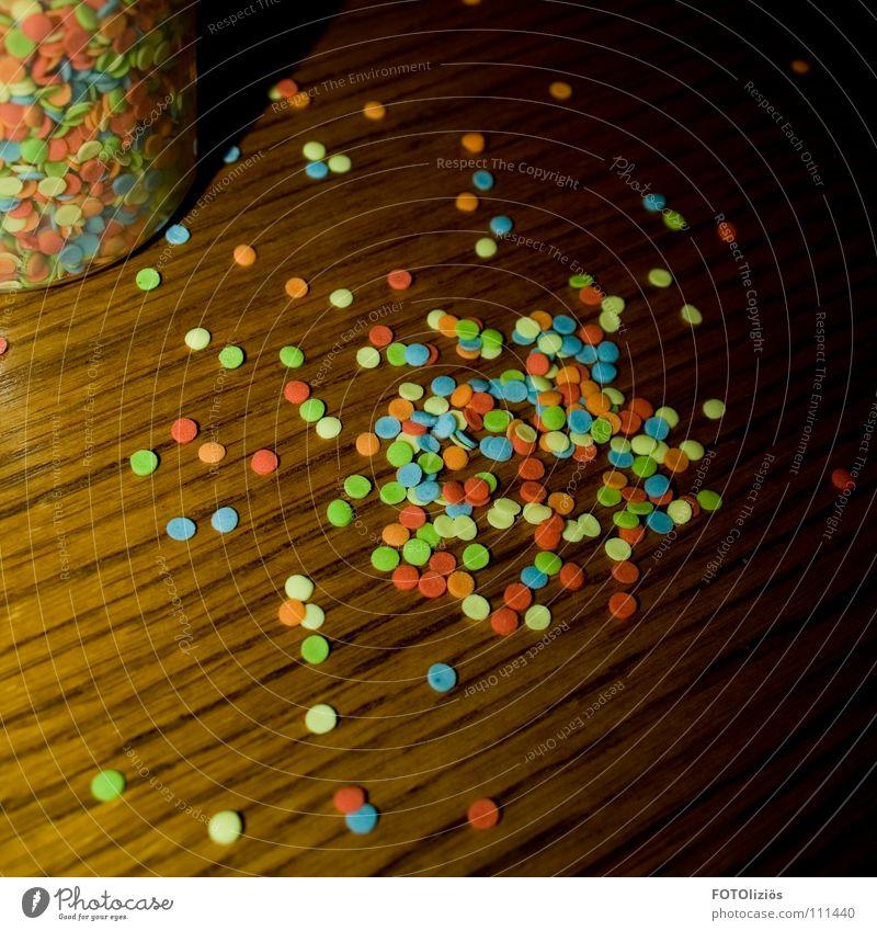 Backkonfetti Winter Holz Tisch Kochen & Garen & Backen Küche Punkt lecker Dose Zucker Backwaren verschönern Konfetti Mehl Krümel Bäckerei Streusel