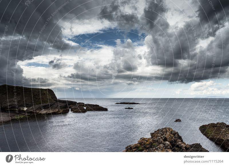 Danach … Abenteuer Ferne Meer Wolken Klima Klimawandel Wetter Unwetter Wind Sturm Regen Gewitter Felsen Küste Bucht Fjord Riff Atlantik Klippe Nordirland