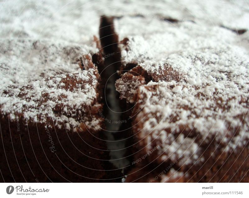 Tarte au Chocolat braun süß Teile u. Stücke Kuchen lecker Frankreich Backwaren Geschmackssinn