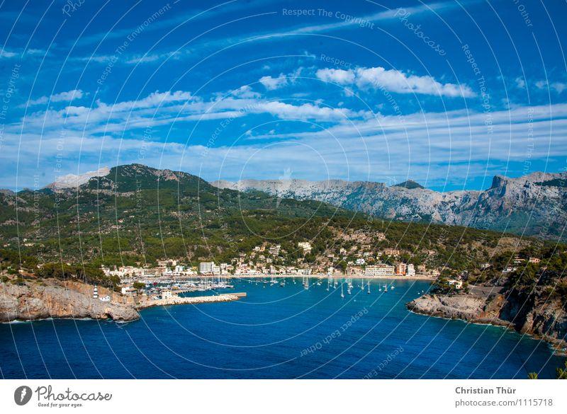 Urlaubspanorama Lifestyle harmonisch Wohlgefühl Zufriedenheit Sinnesorgane Erholung ruhig Meditation Schwimmen & Baden Ferien & Urlaub & Reisen Tourismus