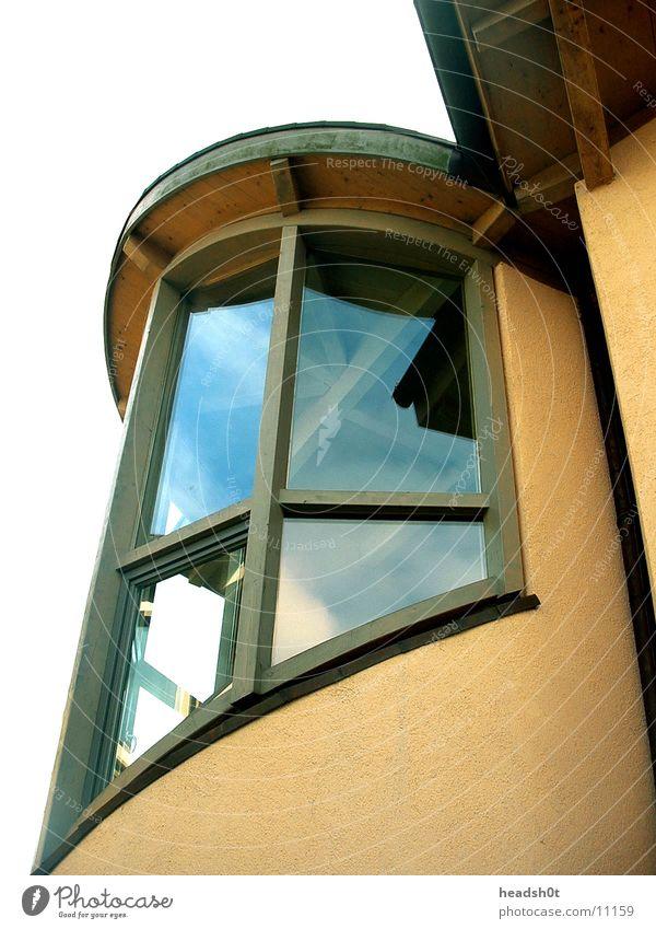 kurven eines hauses Haus Fenster Architektur modern rund schwungvoll
