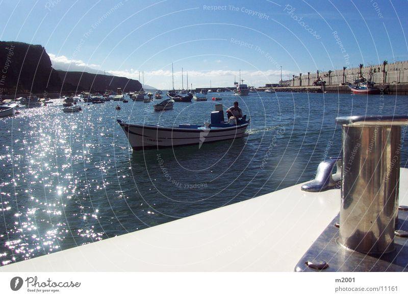 Tazzacorte Hafen Sonne Wasserfahrzeug Europa Mallorca Fischer Palma de Mallorca