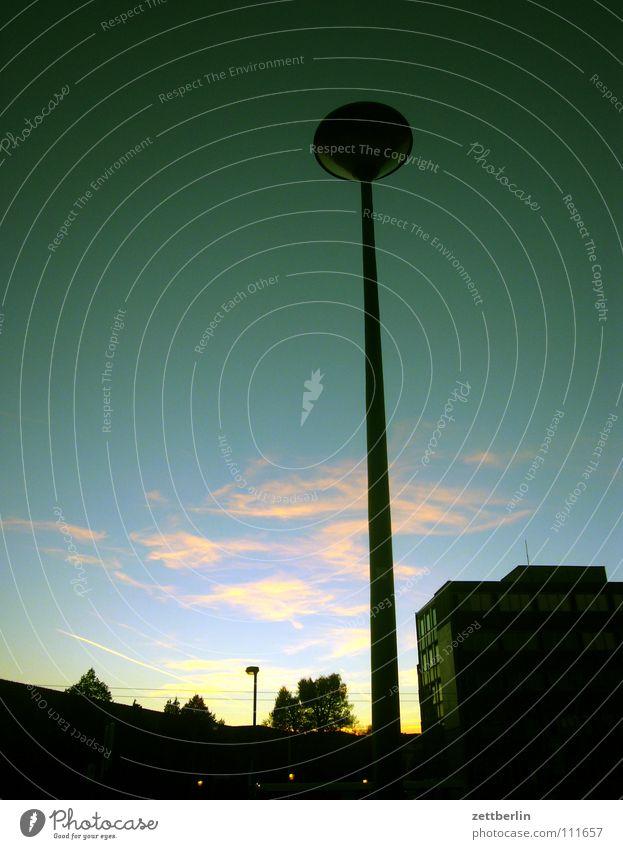 PC 600 Potsdam Composition Laterne Wolken Dämmerung Stadt Sonnenuntergang Architektur Verkehrswege Himmel Abend
