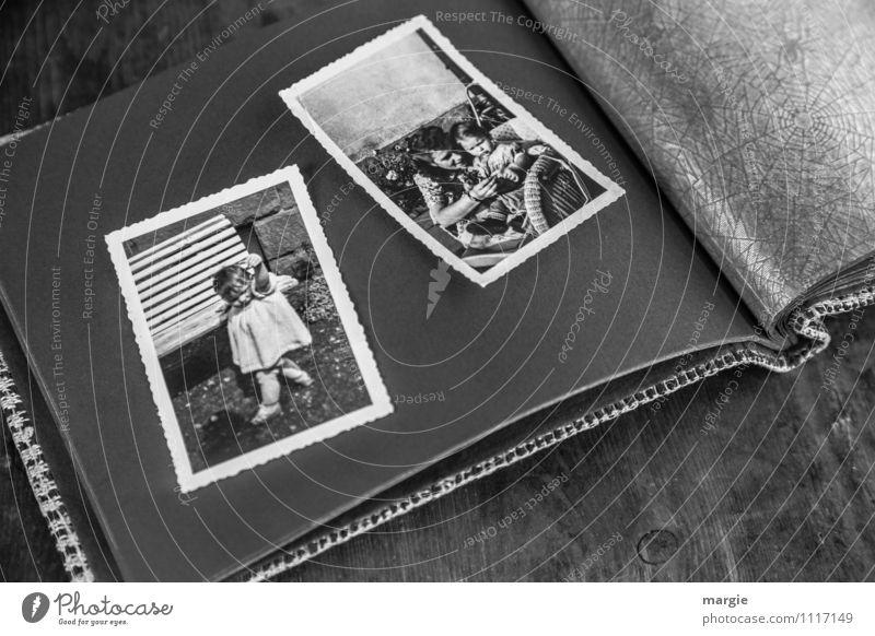 Kindheit Mensch Frau Jugendliche alt Junge Frau weiß schwarz Erwachsene feminin Zufriedenheit Körper Baby Fotografie retro