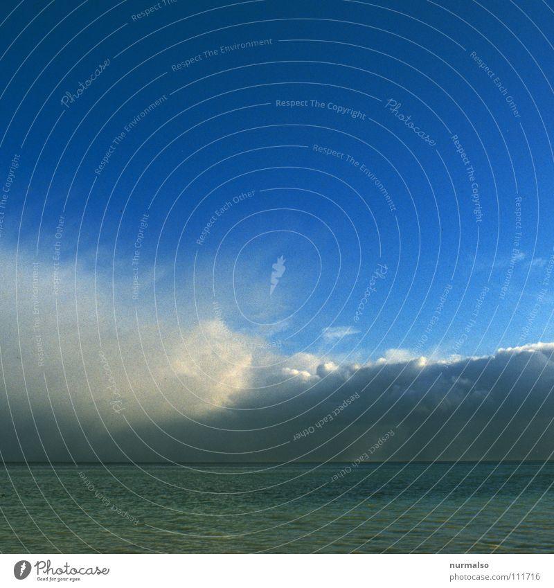 Guter Morgen IV Natur weiß Sonne Meer grün Freude Strand Ferien & Urlaub & Reisen Einsamkeit See Stimmung Schilder & Markierungen Insel Aussicht Spaziergang