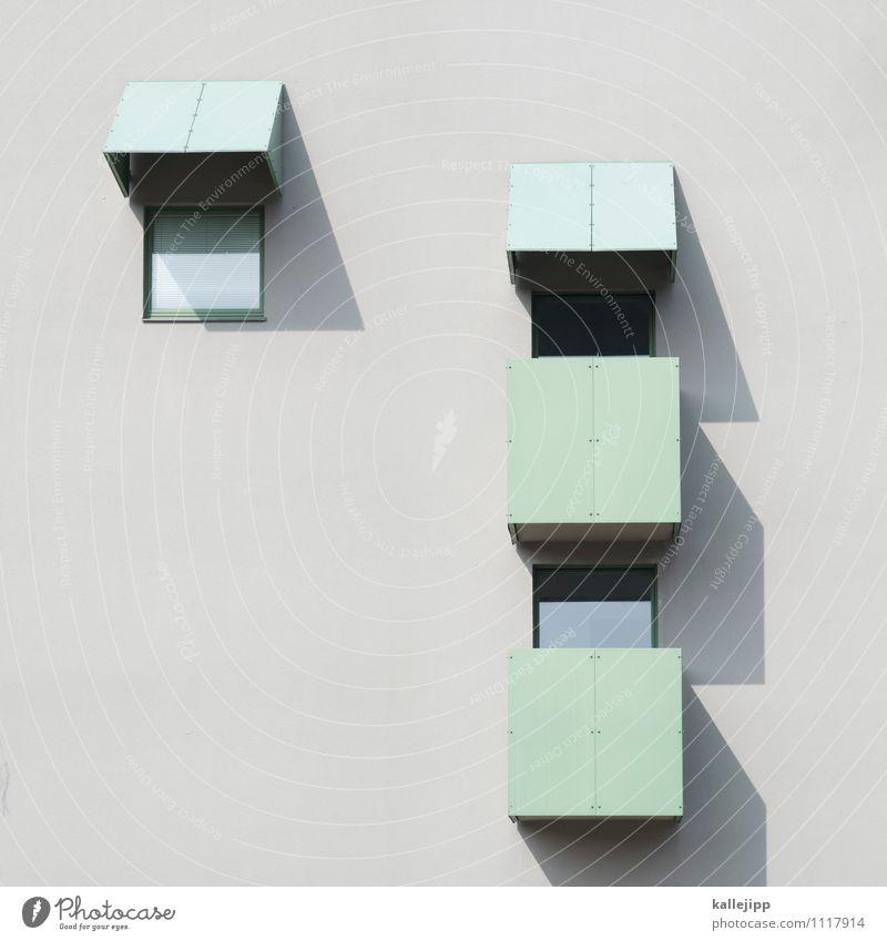 flat shadow Stadt Haus Hochhaus Gebäude Architektur Fassade Fenster hell Geometrie Symmetrie Beton Balkon Mieter Bewohner Haushalt Farbfoto Gedeckte Farben Tag