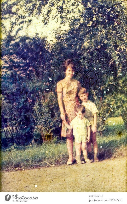 Mutter, Kind, Kind, 1966 Natur Ferien & Urlaub & Reisen Jugendliche Farbe Junge Frau Erholung Landschaft Gesicht Reisefotografie Familie & Verwandtschaft Park