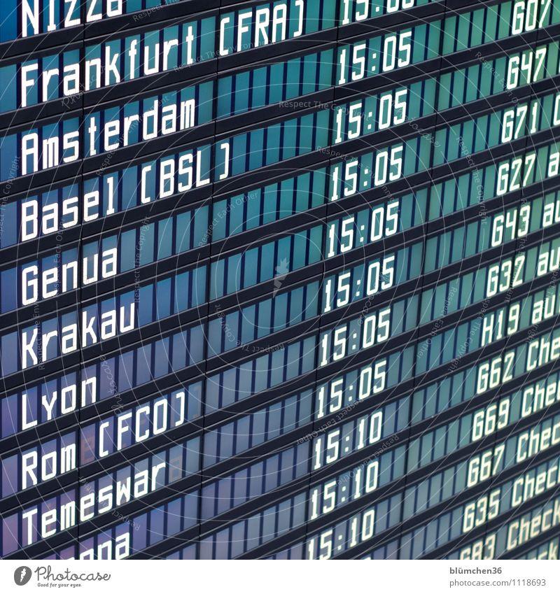 geometrisch | parallel Luftverkehr Flughafen Abflughalle Business Flugplan Ankunft Information Pünktlichkeit Orientierung planmäßig Zeitplanung Anzeige