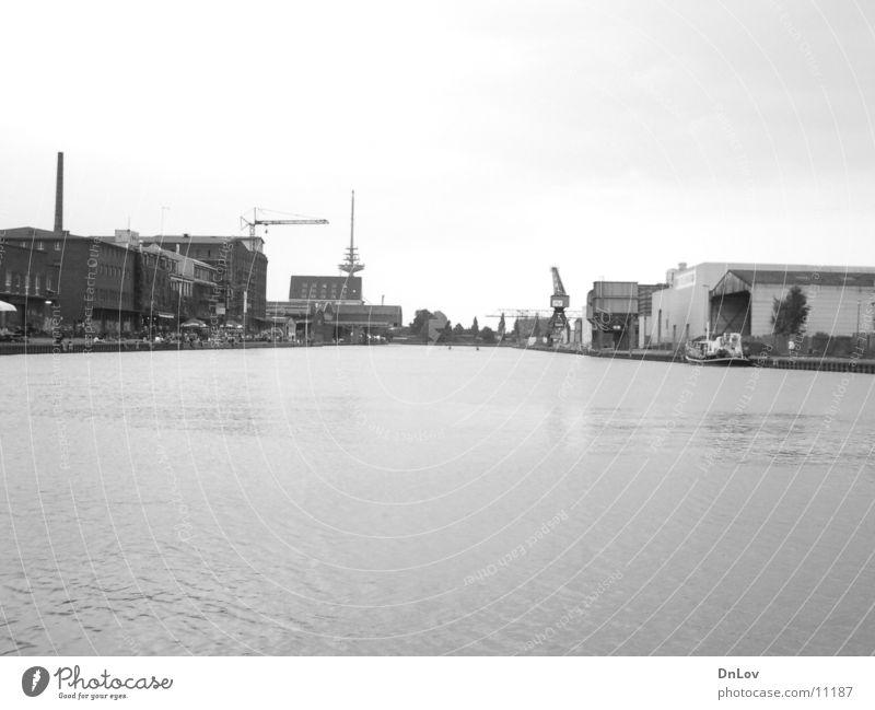 port alt Industrie Hafen Kran