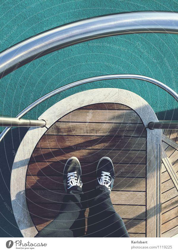 Auf hoher See Lifestyle Freizeit & Hobby Ferien & Urlaub & Reisen Tourismus Ausflug Abenteuer Ferne Freiheit Sightseeing Kreuzfahrt Sommer Sommerurlaub Sonne