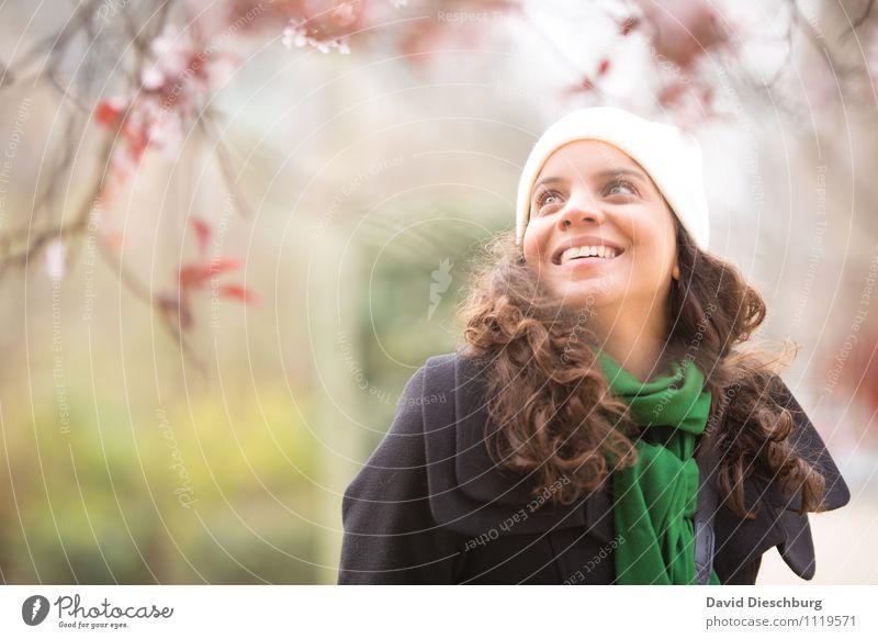 Pariser Frühling Mensch Frau Natur Ferien & Urlaub & Reisen Jugendliche Pflanze schön Baum Junge Frau ruhig Tier 18-30 Jahre Erwachsene Gesicht feminin