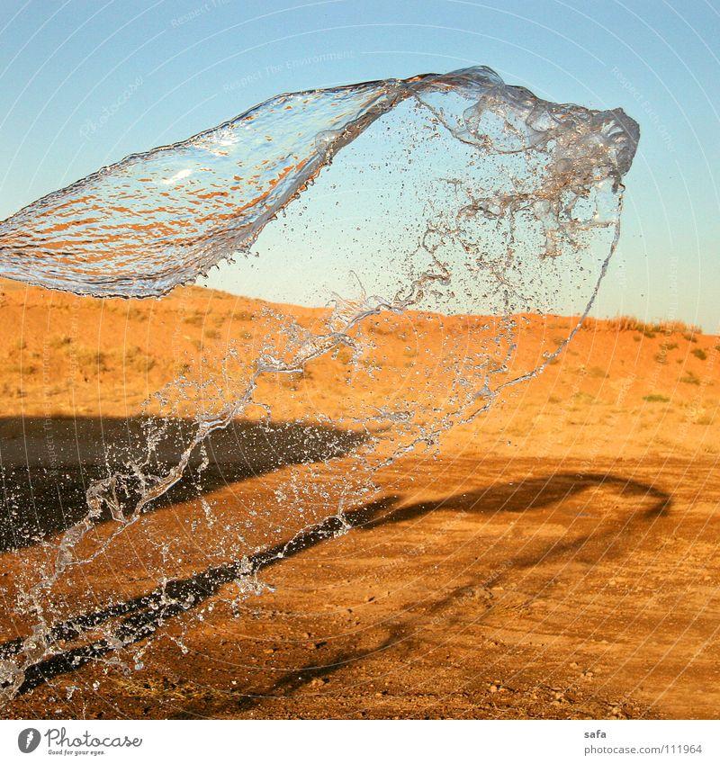 Desert Himmel Natur Wasser Freude Wüste Bauernhof Momentaufnahme Asien Sonnenuntergang Iran