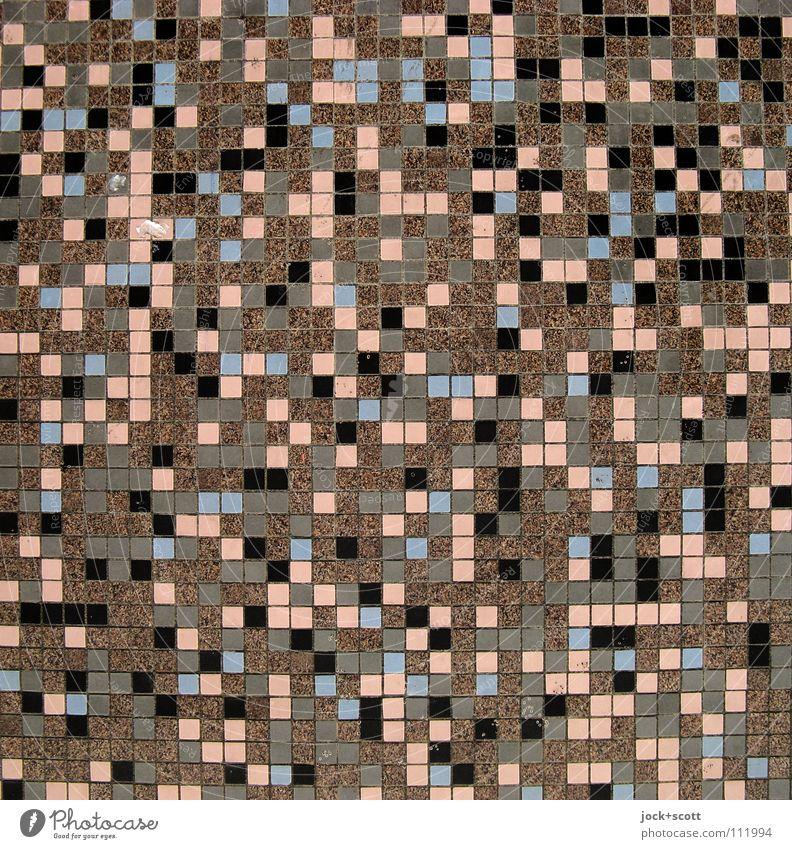 von unregelmäßigen Ecken und Kanten Kunsthandwerk Straßenkunst Wandverkleidung Fliesen u. Kacheln Ornament Mosaik Quadrat eckig viele braun Inspiration Qualität