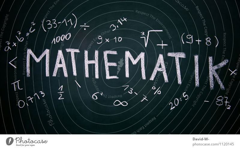 Mathematik Lifestyle Stil Design Kindererziehung Bildung Wissenschaften Erwachsenenbildung Schule lernen Klassenraum Tafel Schulkind Schüler Berufsausbildung
