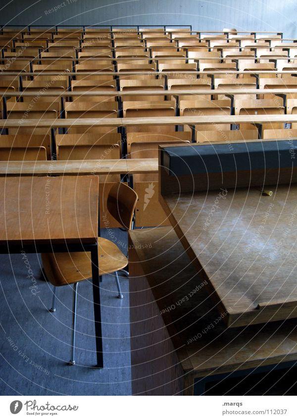 Teach You blau ruhig dunkel Schule Zusammensein Platz mehrere Studium leer Schulgebäude lesen Show Kommunizieren Ziel viele beobachten