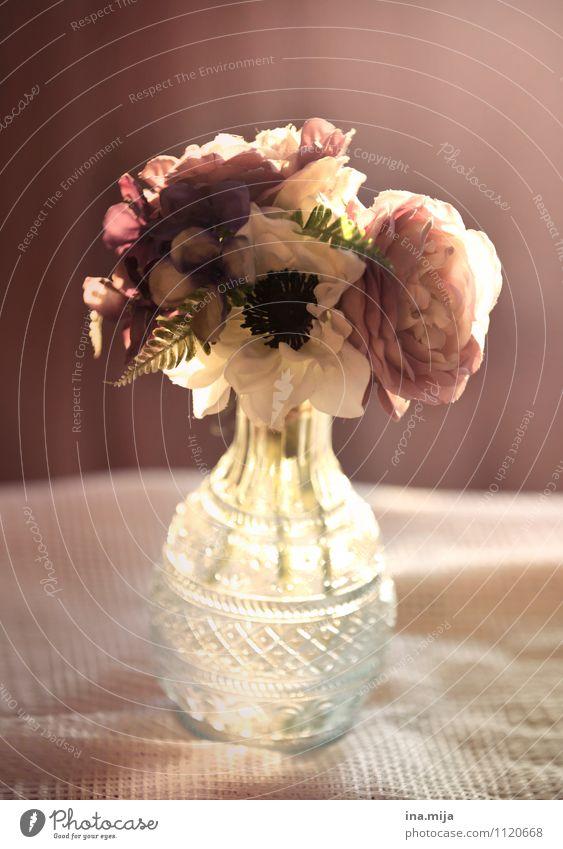 . elegant Feste & Feiern Valentinstag Muttertag Hochzeit Umwelt Natur Pflanze Frühling Sommer Blume Rose Blüte Dekoration & Verzierung Kitsch Krimskrams Glas