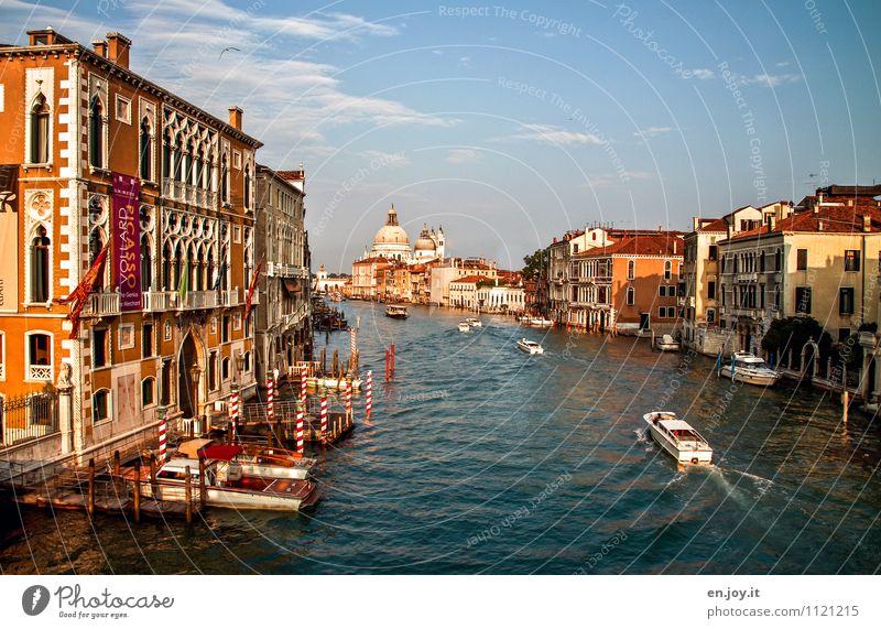 o sole mio Ferien & Urlaub & Reisen Tourismus Ausflug Sightseeing Städtereise Sommer Sommerurlaub Sonne Himmel Sonnenlicht Frühling Schönes Wetter Venedig