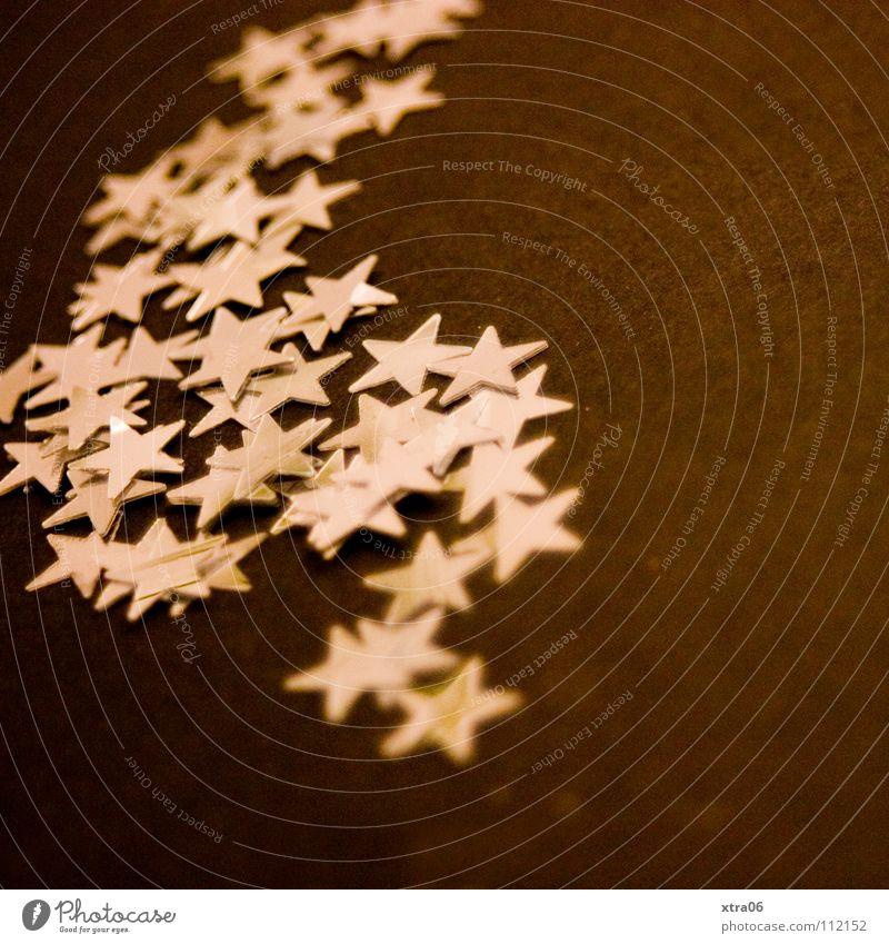 der komet Weihnachten & Advent Metall Stern (Symbol) Dekoration & Verzierung silber Basteln