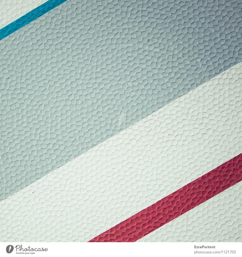 // / / Kunststoff Zeichen Linie Streifen blau grau rot weiß Design Farbe Karosserie Grafik u. Illustration Grafische Darstellung graphisch Hintergrundbild